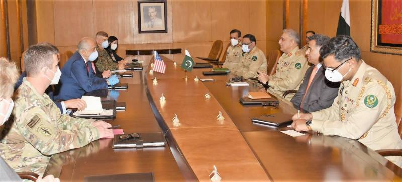 US diplomat Khalilzad appreciates Pakistan's untiring efforts for Afghan peace process
