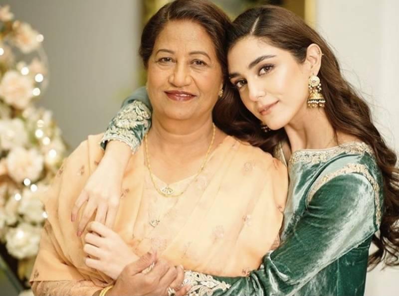Maya Ali pens heartfelt note for mother
