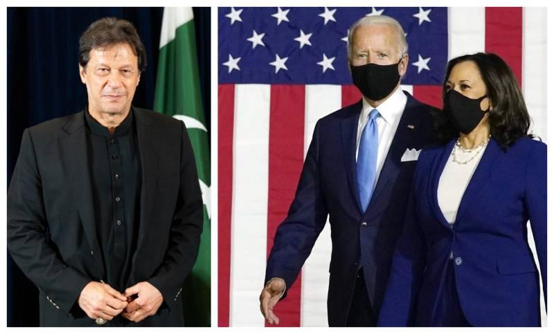 PM Imran congratulates Biden, Kamala on US presidential victory