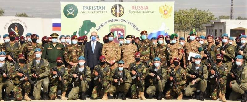 Russian ambassador attends opening ceremony of DRUZHBA–V drills at Tarbela