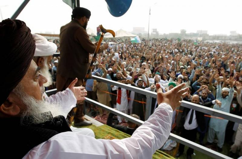TLP holds massive rally in protest over blasphemous cartoons