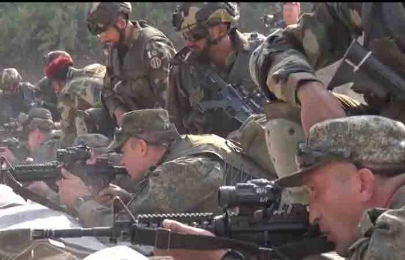 Watch – Pakistani, Russian special forces engage in counter-terror drills