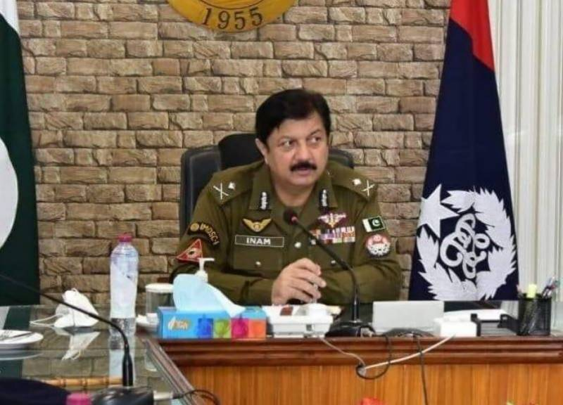 IGP Inam Ghani announces new anti-crime policy