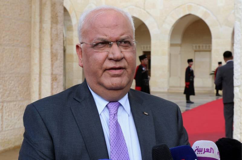Pakistan condoles demise of top Palestinian peace negotiator