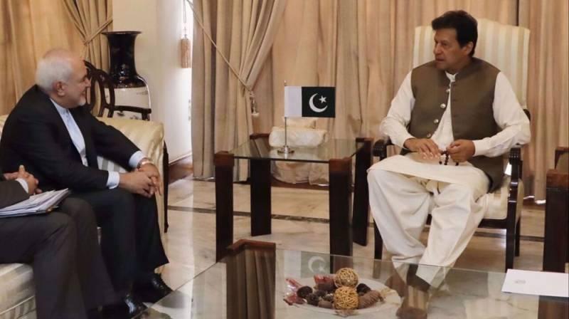 Pakistan, Iran must further strengthen bilateral cooperation, PM Imran tells FM Zarif
