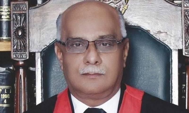 PHC Chief Justice Waqar Seth dies of COVID-19