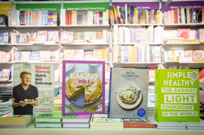 Books on easy cook huge attraction at SIBF 2020
