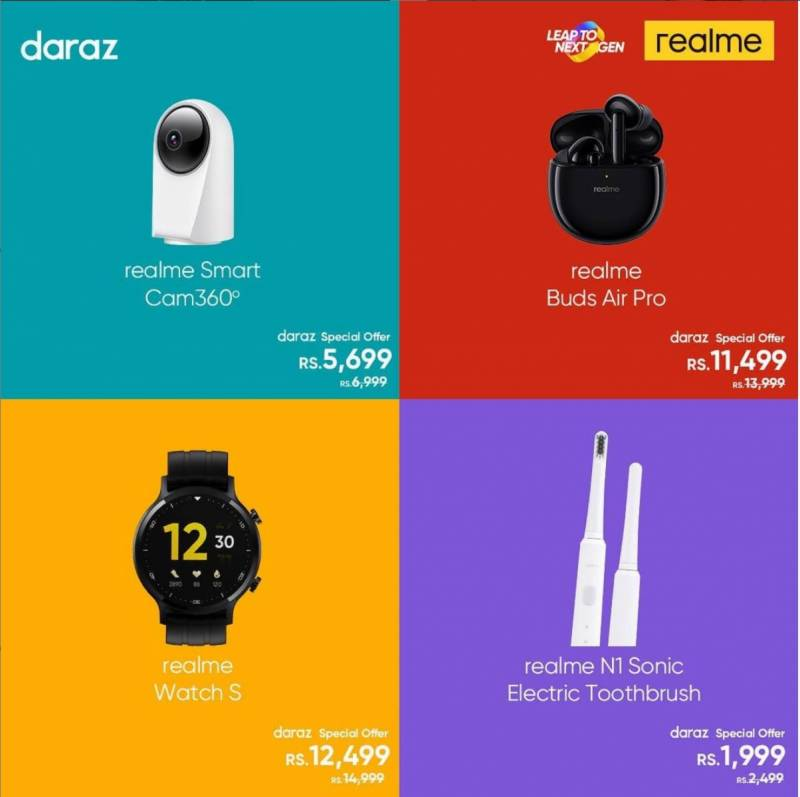 Celebrate fall with realme; Night Life Contest ft. 7 Pro 64 MP Nighscape Camera & Daraz 11 11 sale is live now!