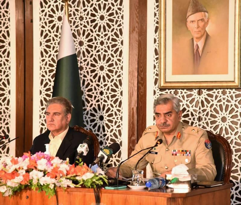 'Irrefutable evidence': ISPR-FM present dossier on India's sponsorship of state terrorism in Pakistan