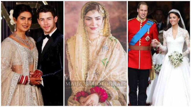 9 iconic celebrity wedding looks