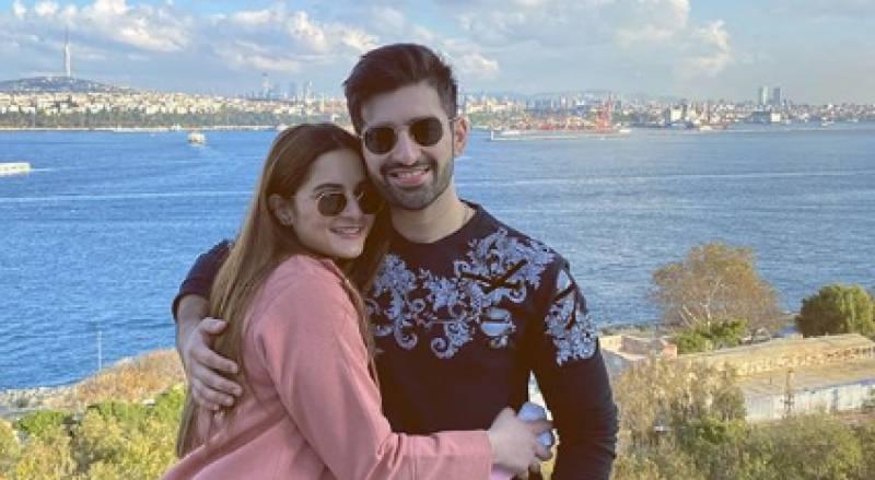 Aiman and Muneeb Butt enjoying their vacation in Turkey