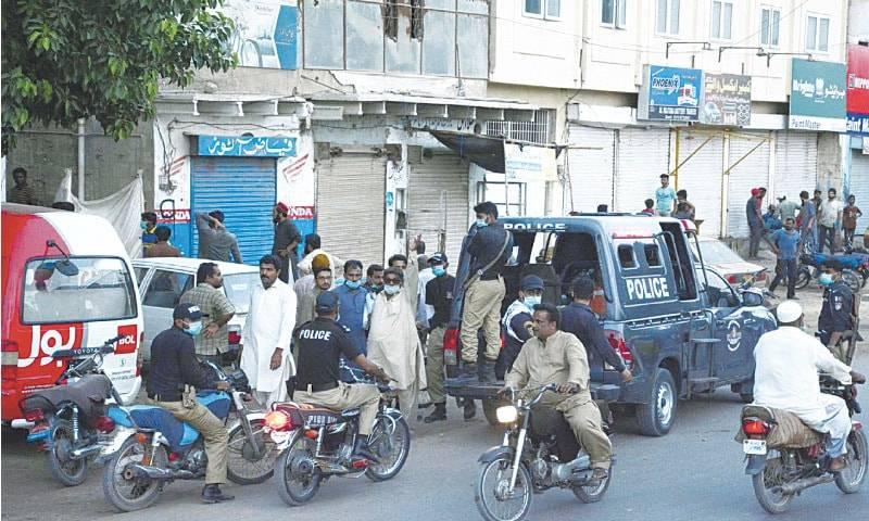 Karachi's Korangi mobile market sealed over coronavirus SOP violations
