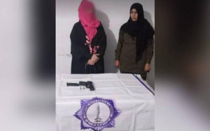Lahore girl arrested after viral gun video