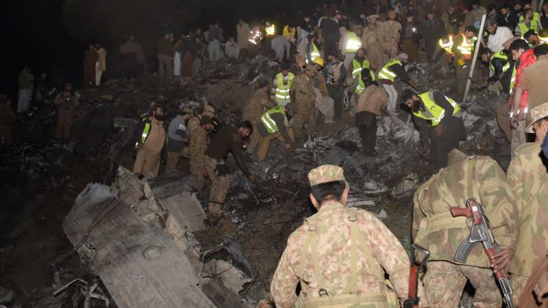 PIA Havelian plane crash report finds 'PIA engineers' responsible'