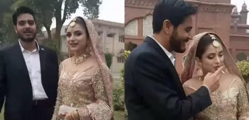New Pakistani couple start life journey with a puff!