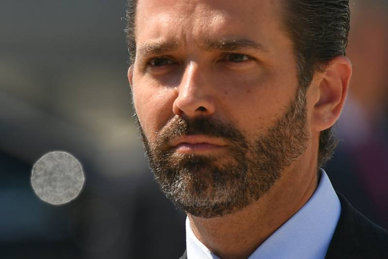 Donald Trump Jr tests positive for COVID-19