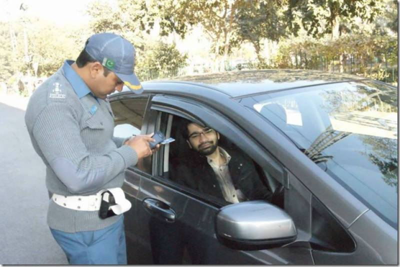 Online system for traffic fine payment launched in Lahore