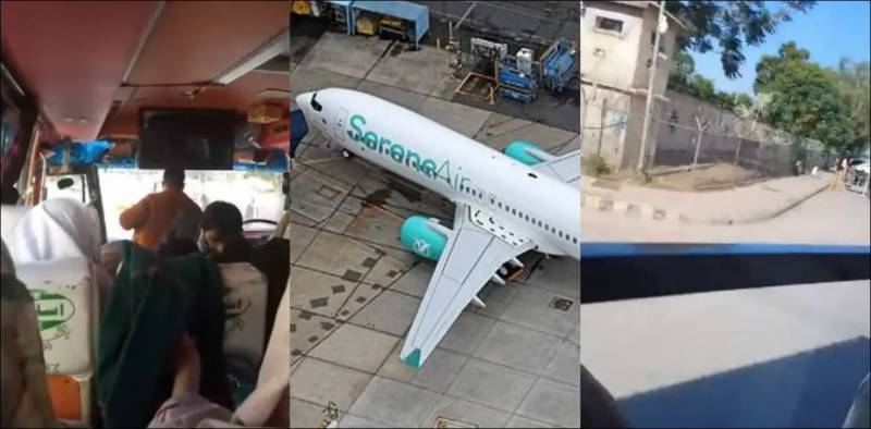 Serene Air sends passengers by bus (VIDEO)