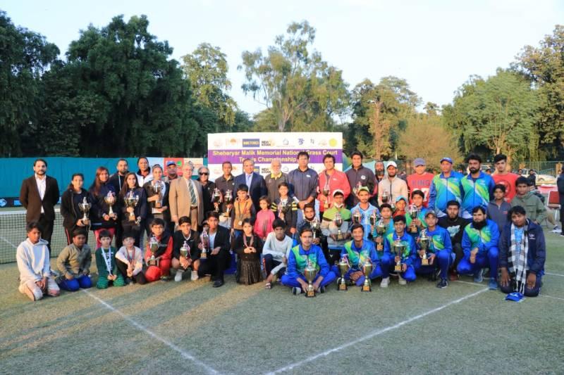 4th Sheheryar Malik Memorial National Grass Court Tennis Championship 2020: Aqeel, Ushna clinch singles titles