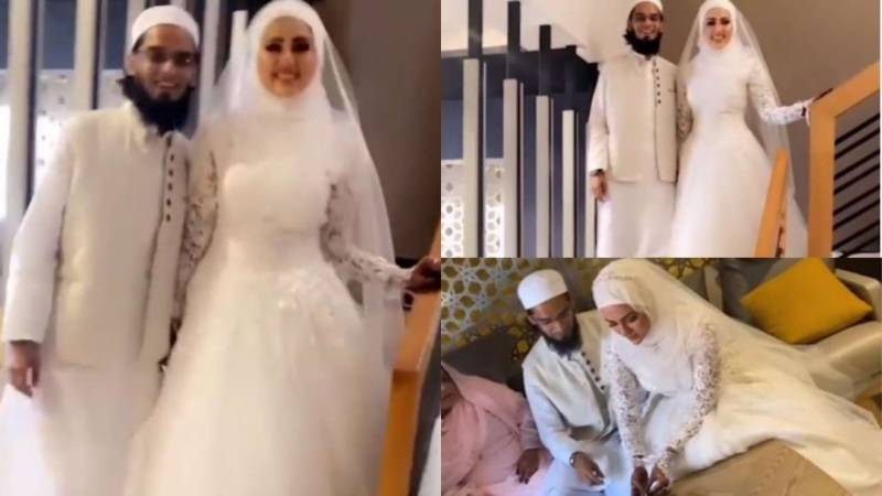 Sana Khan ties the knot with Mufti Anas in private ceremony (VIDEO)