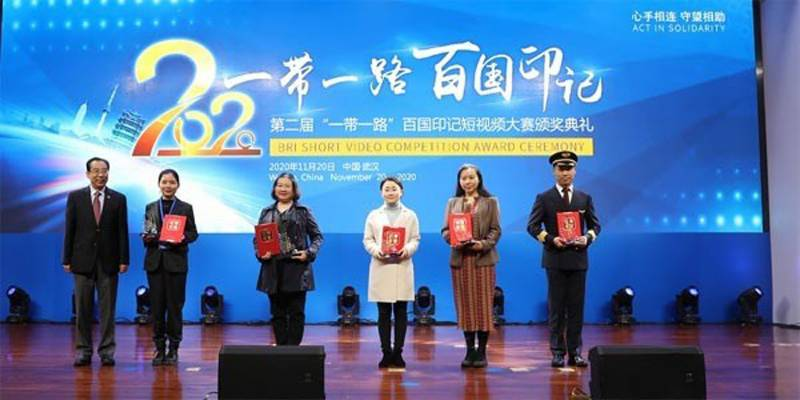 Pakistani construction worker's video wins award in China