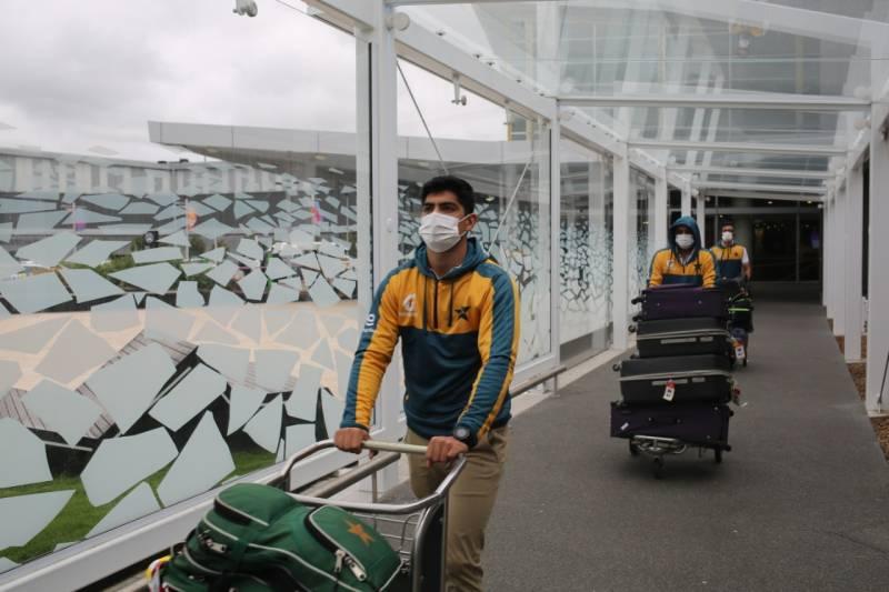 PakvsNZ: Pakistan cricket team reaches New Zealand for series