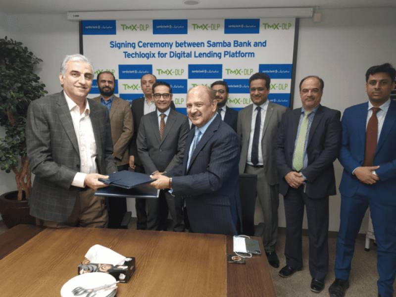 Samba Bank, Techlogix join hands to introduce Digital Lending