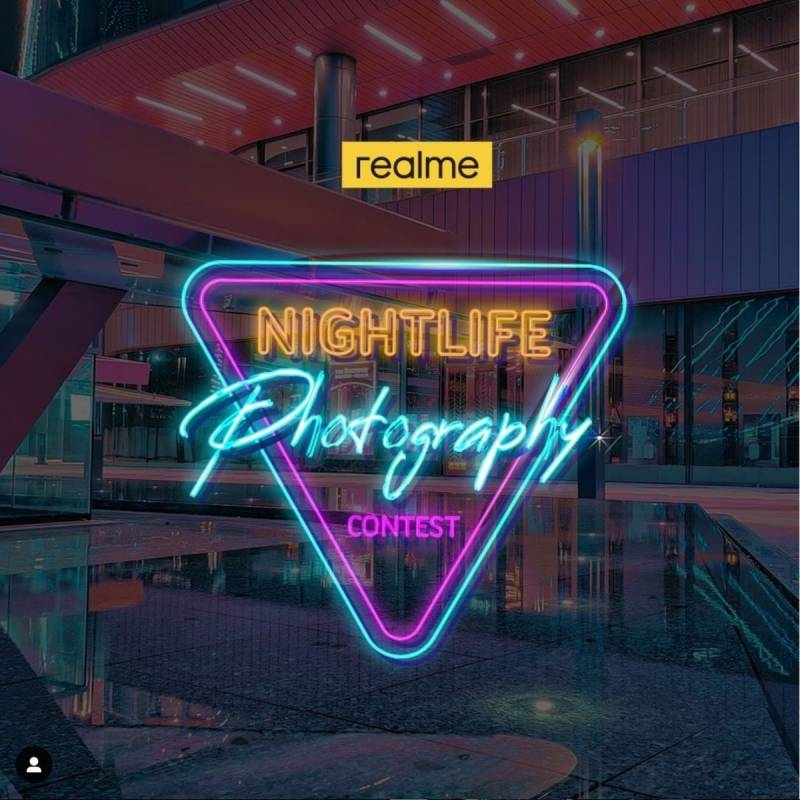Join nightlife photography contest by realme to win realme 7 pro!