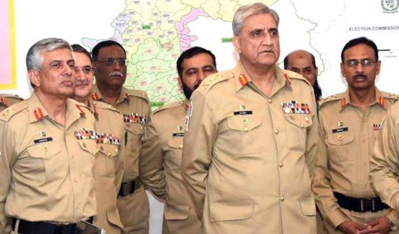 Pakistan Army reshuffles top generals