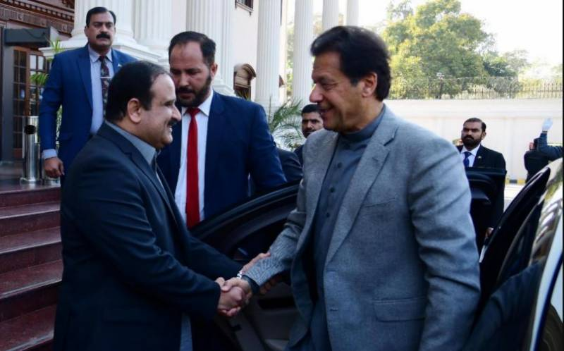 PM Imran, CM Buzdar discuss provincial development projects, political issues