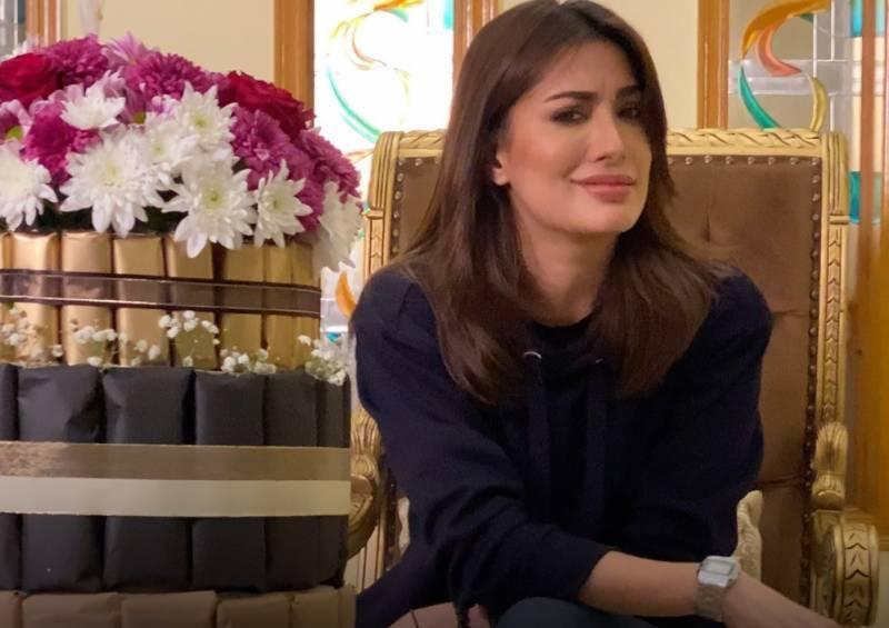 Mehwish Hayat surprised by secret admirer (VIDEO)
