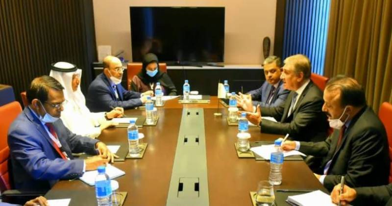 FM Qureshi discusses Islamophobia, Kashmir situation with OIC Secretary General