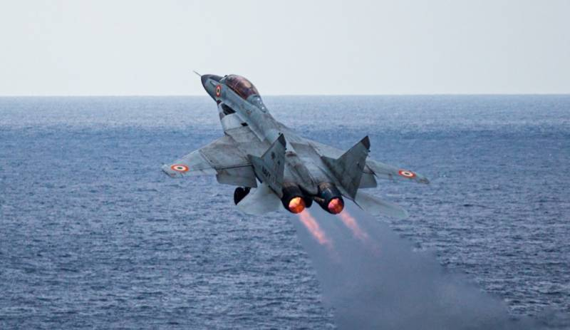 Indian Navy's MiG-29K crashes into Arabian Sea, pilot missing
