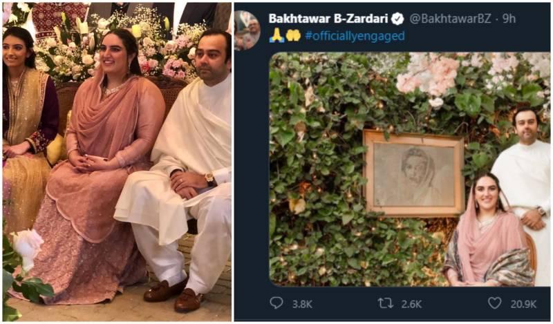 #CongratsBibi trends in Pakistan as Bakhtawar is engaged