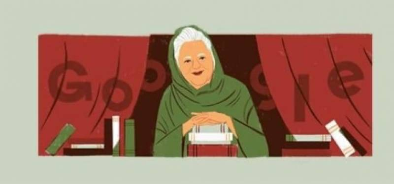 Google Doodle pays tribute to Bano Qudsia on 92nd birthday