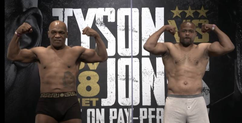 Mike Tyson returns to ring (Face-off VIDEO)