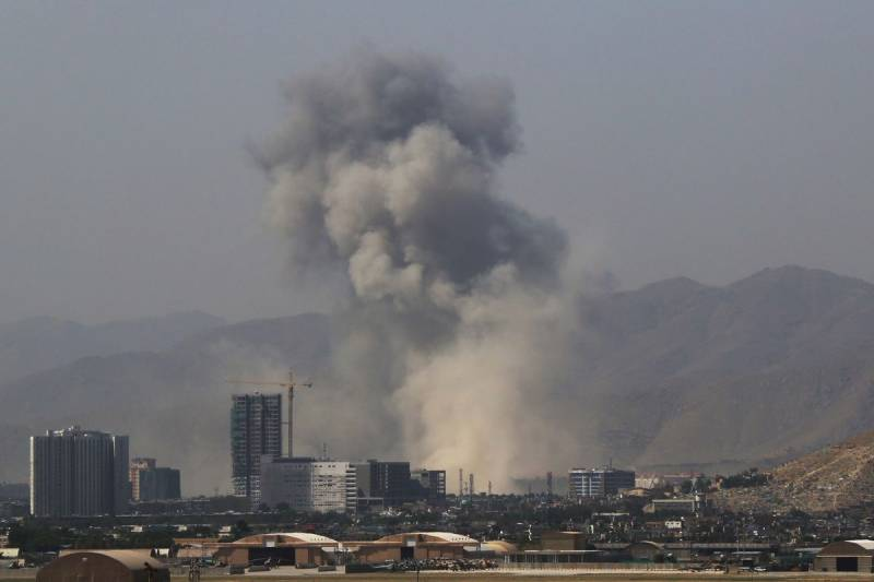 At least 30 Afghan security personnel killed in suicide car bombing