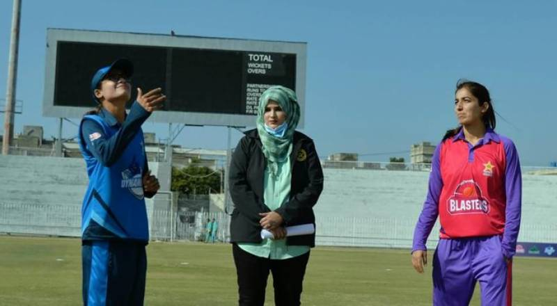 Pakistan's only woman referee officiates first national T20 championship