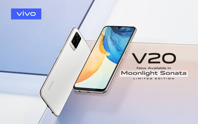 vivo launches limited edition Moonlight Sonata color for flagship V20 smartphone in Pakistan