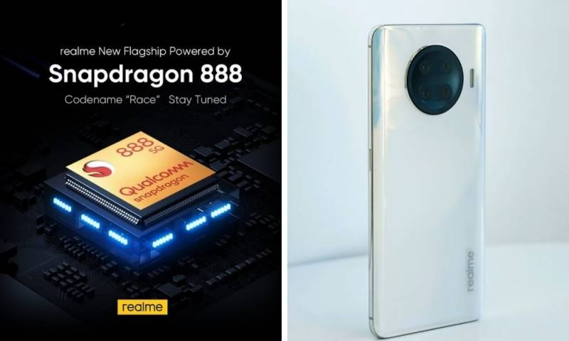"Realme ""RACE"" coming up with powerful, fast speed Qualcomm Snapdragon 888 flagship mobile platform"
