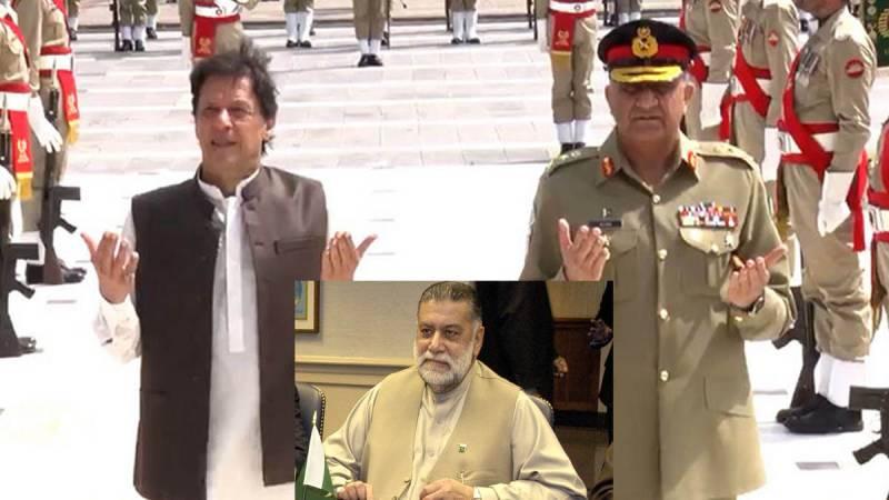 PM Imran, Army chief express deep condolence over demise of Mir Zafarullah Jamali