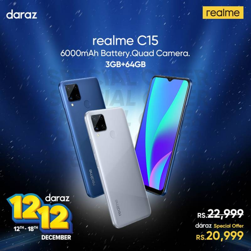 realme and Daraz gear up for another Sale Daraz 12 12