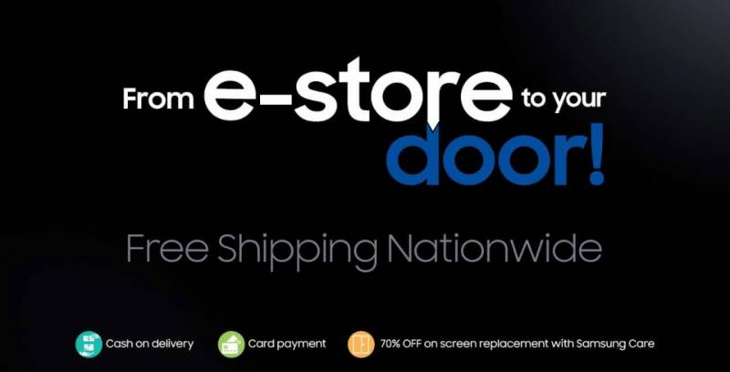 Shop & win PKR 100,000 every day with Samsung Pakistan's eStore