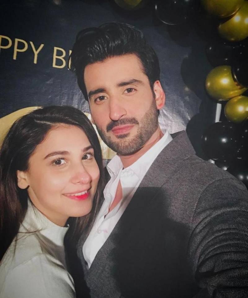 Agha Ali celebrates birthday with family