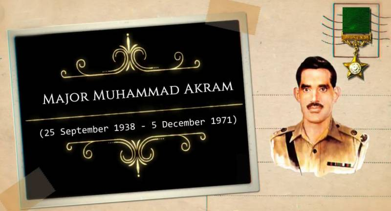 Pakistan Army pays tribute to Major Muhammad Akram Shaheed on his 49th martyrdom anniversary