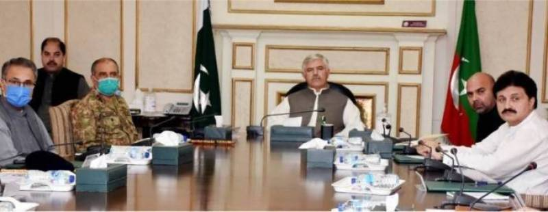KP task force on COVID-19 holds meeting at Peshawar Corps HQ