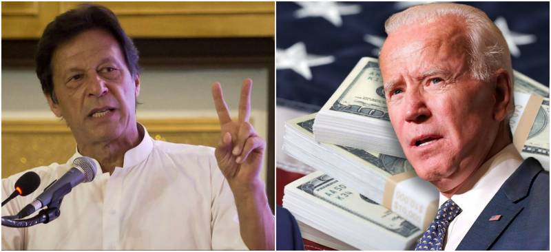 PM Imran welcomes Biden's plan against looted money