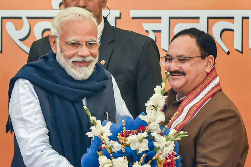 BJP chief JP Nadda tests positive for COVID-19