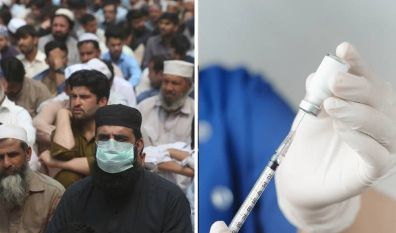 How many Pakistanis willing to administer COVID-19 vaccine, reveals survey