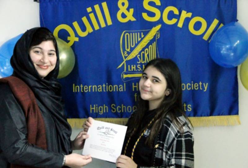 Meet Nawal Haider Butt – first ever Pakistani member of Quill and Scroll